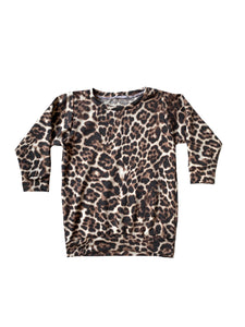 Leopard Print Sweater Pullover