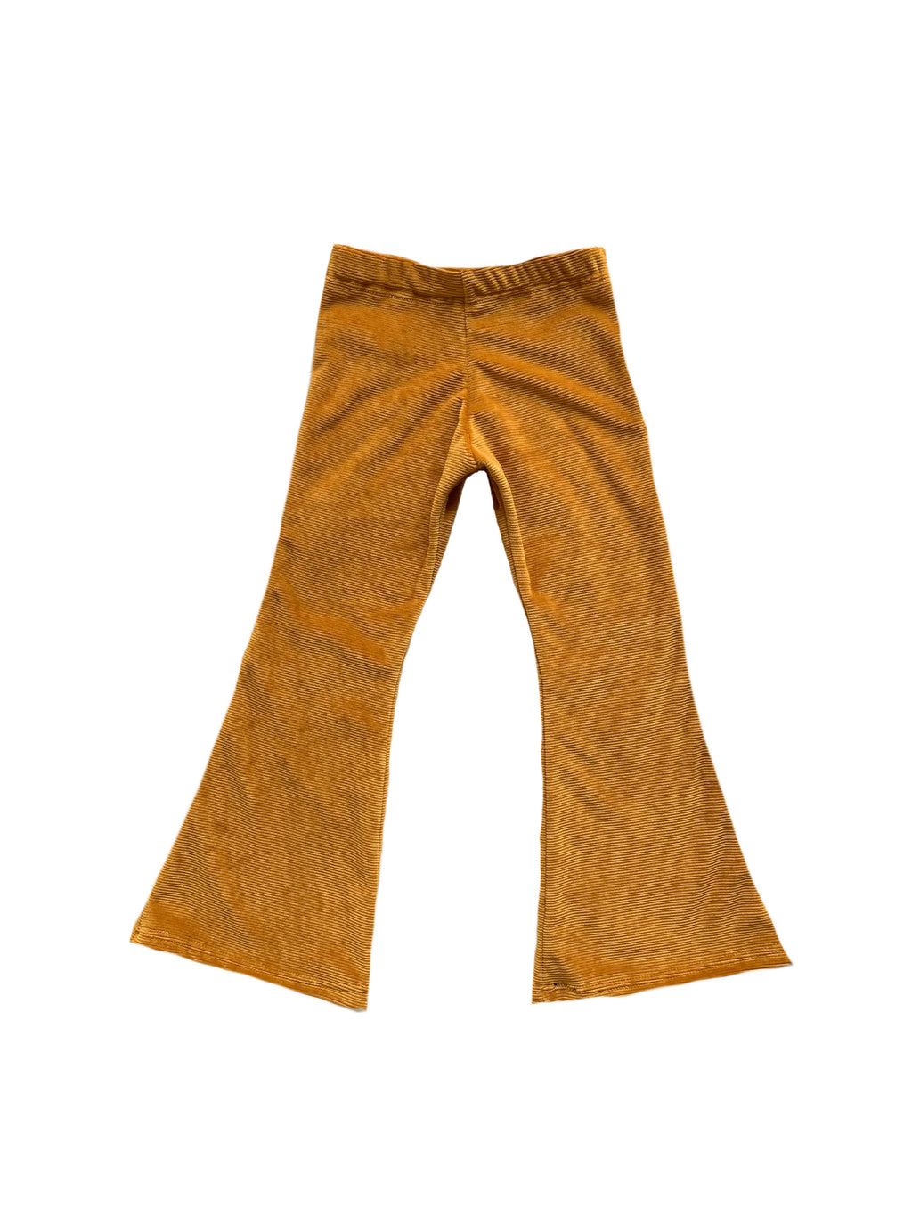 Soft Corduroy Bell Bottoms - Mustard or Blush