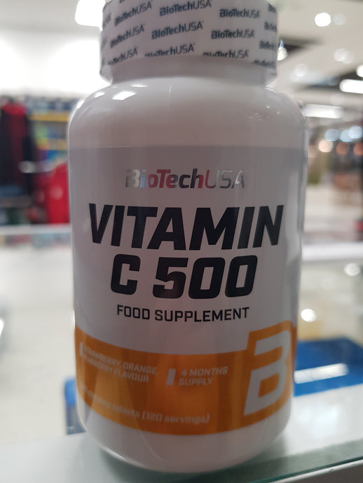 Biotech Usa Vitamin C Chewable Tablets (Flavoured)