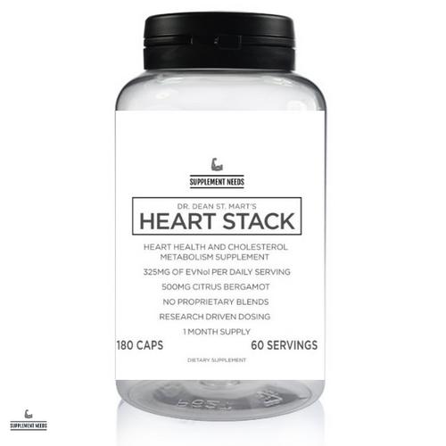 SUPPLEMENT NEEDS HEART STACK - 180 CAPSULES