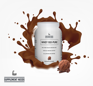 SUPPLEMENT NEEDS WHEY ISO-PURE - 1KG