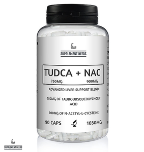 TUDCA 750MG AND NAC 900MG - 30 SERVINGS
