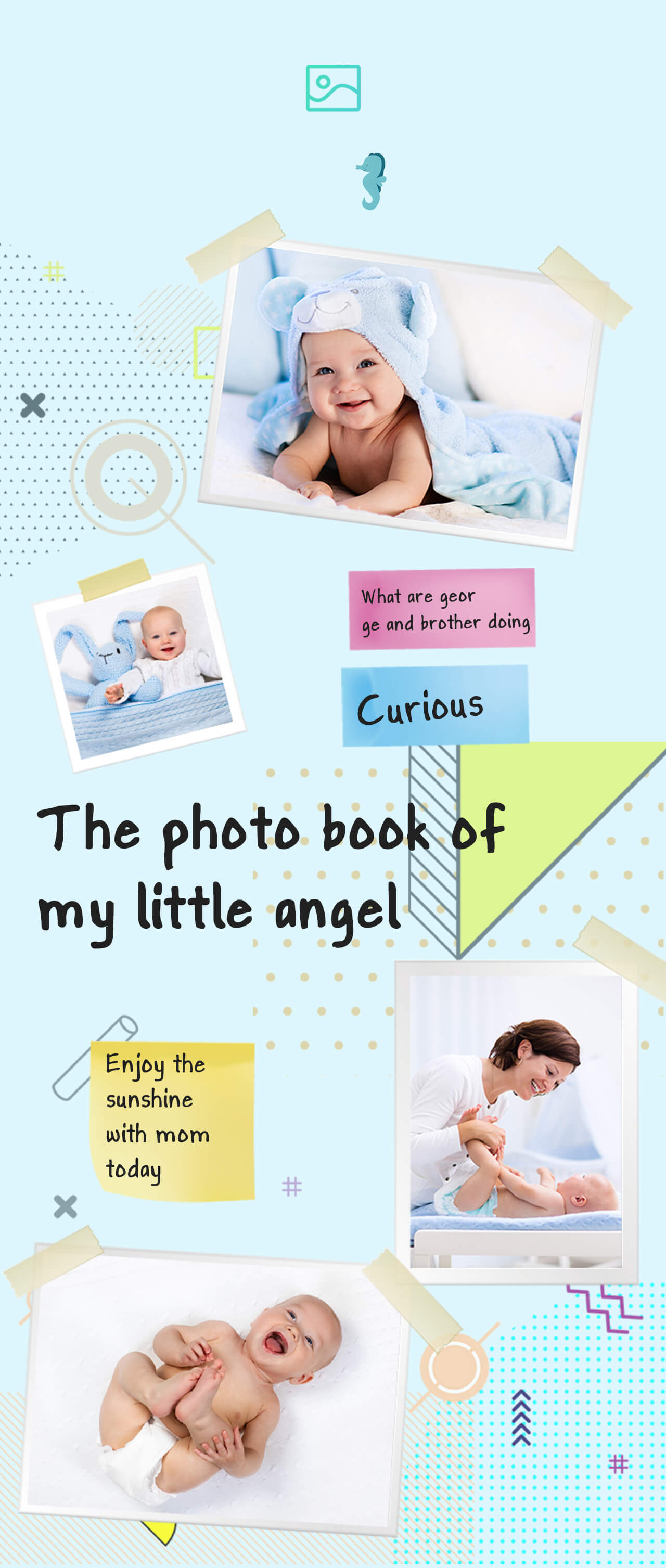SimCam Baby automatically takes a snapshot upon detecting your baby's face