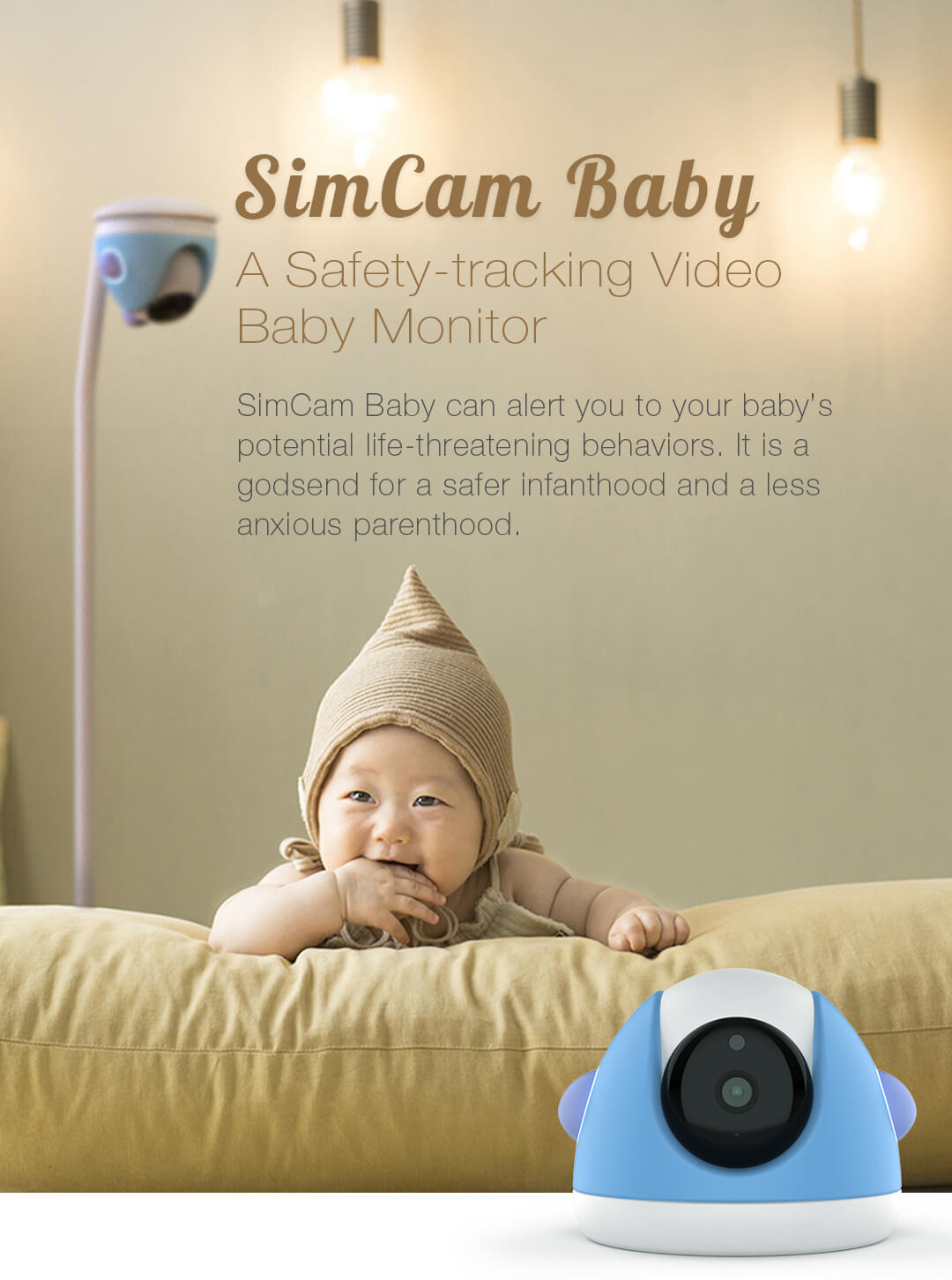 simcam baby monitor