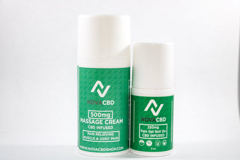 NovaCBD Massage Cream 500mg CBD