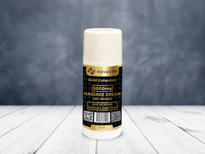 NovaCBD Gold Massage Cream | 5000mg - NovaCBD