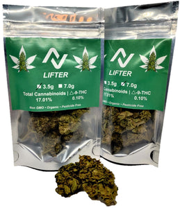 LIFTER - 7 grams Premium Hand Trimmed 60 days cured flower - NovaCBD