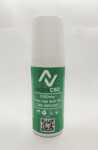 Novacbd 1000MG Roller-chronic pain - NovaCBD