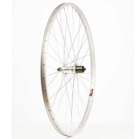Wheel Shop Alex X101 Silver/ Shimano FH-RM30-7 Wheel Rear 700C / 622 Holes: 36 QR 135mm Rim Shimano 7 speed