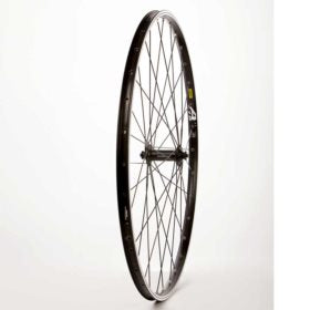 Wheel Shop Mavic A119 Black/ Shimano Acera HB-T3000 Wheel Front 700C / 622 Holes: 32 QR 100mm Rim