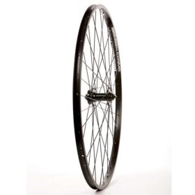 Wheel Shop Front 700C Wheel Alex DM-18 Black / DC-20 Black 32 DT Stainless Black Spokes QR Axle