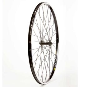 Wheel Shop Mavic A719 Black/ Shimano Deore HB-T610 Wheel Front 700C / 622 Holes: 36 QR 135mm Rim