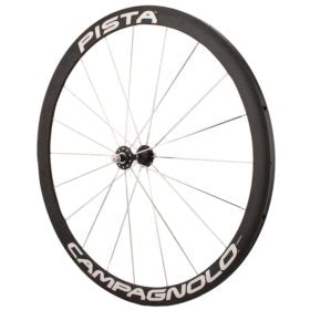 Campagnolo Pista Tubular Rear Wheel Rear 700C / 622 Holes: 24 Bolt-on 120mm Rim Fixed