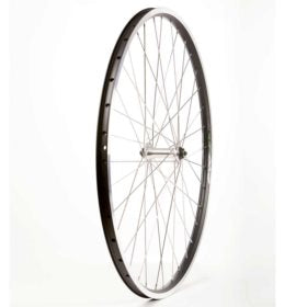 Wheel Shop Evo E-Tour 19 Black/ Formula FM-21-QR Wheel Front 700C / 622 Holes: 36 QR 100mm Rim