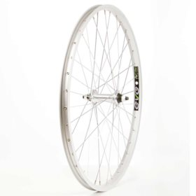 Wheel Shop Evo E-Tour 20 Silver/ Formula FM-21 Wheel Front 24'' / 507 Holes: 36 Bolt-on 100mm Rim