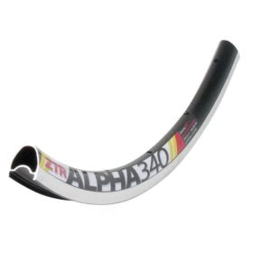 Stan's No Tubes Alpha 340 Rim 700C ISO 622 20H Double wall Presta Black