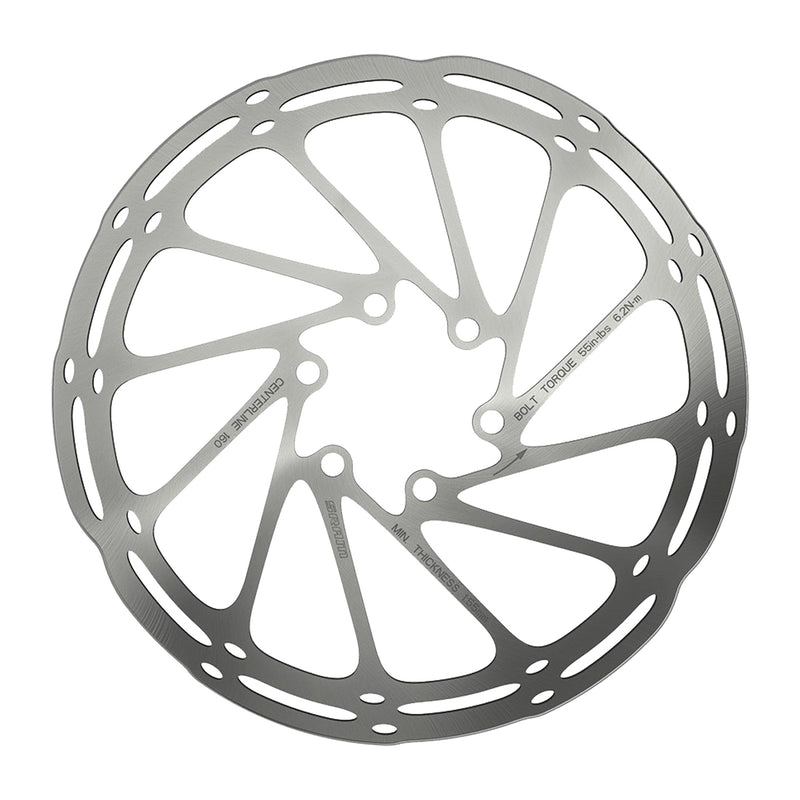 SRAM BRAKE PART SRAM DISC ROTOR 200 C-LINE 6B ROUNDED