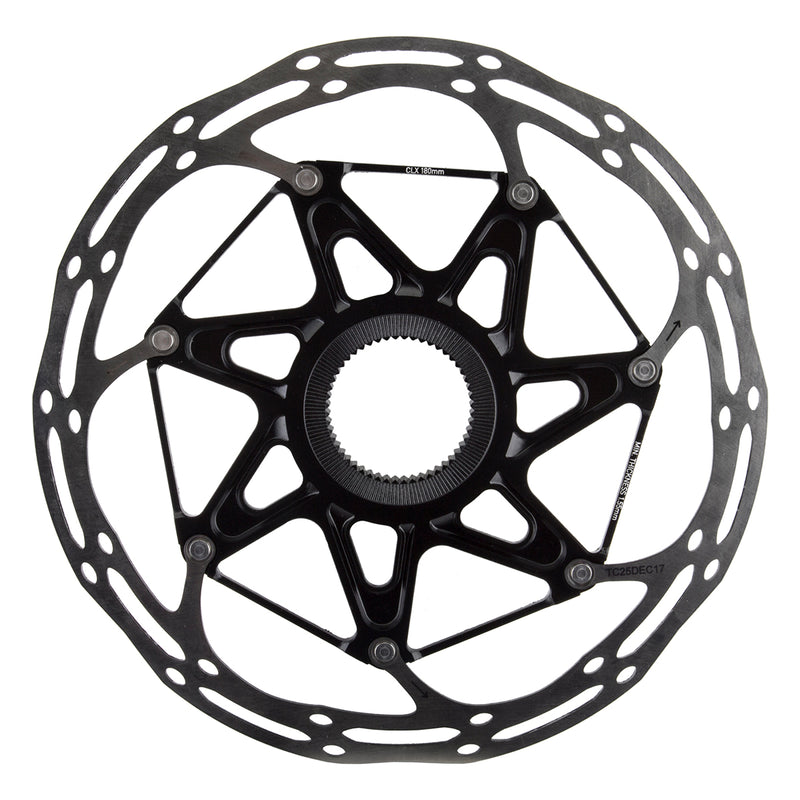 SRAM BRAKE PART SRAM DISC ROTOR 180 C-LINE CL 2-PIECE ROUNDED