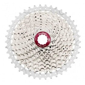 Sun Race CSMX3 Cassette 10 sp. 11-42T For Shimano/SRAM Metallic Silver