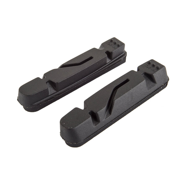 ORIGIN8 BRAKE SHOES OR8 ROAD VISE SHIMANO INSERT f/CARBON RIMS BK