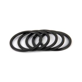 Wheels Manufacturing Head Spacer 1-1/8 NK 1.5mm Bl Black 5pcs
