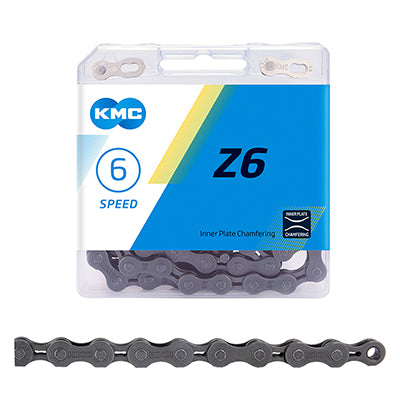 KMC CHAIN KMC Z6 INDEX 6s SL/SL 116L