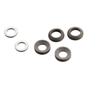 Avid Post Spacer Set 20 S (Front 180/Rear 160) Includes Stainless Caliper Mounting Bolts (CPS & Standard)