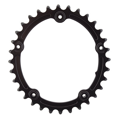 ABSOLUTE BLACK CHAINRING ABSOLUTEBLACK OVAL 110mm 32T 5B 2X SUBCOMPACT BK