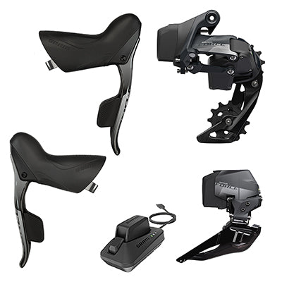 SRAM GROUP KIT SRAM ETAP 2X FORCE AXS ROAD SHIFTER/RD & BATTERY/FD & BATTERY/CHARGER & CORD