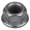 SUNLITE HUB AXLE NUT SUNLT RUST-SHIELD 3/8x24T FLANGED GY