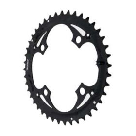 Truvativ 44T 9 sp BCD 104mm 4-Bolt Outer Chainring For 22/33/44 Steel Black 11.6215.015.000