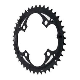 Truvativ 42T 9 sp BCD 104mm 4-Bolt Outer Chainring For MTB triple Steel Black 11.6215.016.000