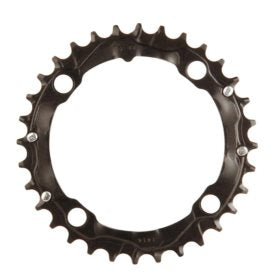 Truvativ 32T 9 sp BCD 104mm 4-Bolt Middle Chainring For MTB triple Aluminum Black 11.6215.088.000