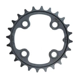 Truvativ 26T 9 sp BCD 64mm 4-Bolt Inner Chainring For MTB triple Aluminum Black 11.6215.092.000