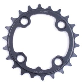 Truvativ 22T 9 sp BCD 64mm 4-Bolt Inner Chainring For MTB triple Aluminum Grey 11.6215.128.000