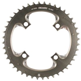 Truvativ 44T 9 sp BCD 104mm 4-Bolt Outer Chainring For 22/33/44 Aluminum Grey 11.6215.188.040