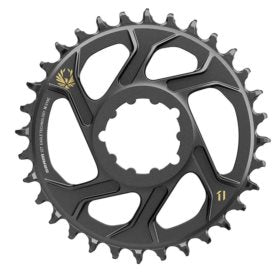 SRAM X-SYNC 2 SL 3mm Chainring Teeth: 32 Speed: 11/12 BCD: Direct Mount Single Aluminum Gold