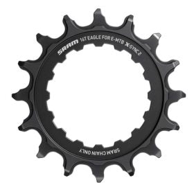 SRAM X-SYNC 2 Bosch Chainring Teeth: 16 Speed: 12 BCD: Direct Mount Single Steel Black