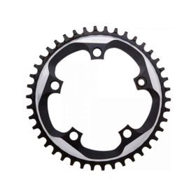 SRAM X-SYNC 42T 110mm Chainring Teeth: 42 Speed: 11 BCD: 110 Bolts: 5 Single Aluminum Black