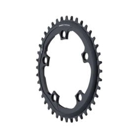 SRAM X-SYNC 44T 110mm Chainring Teeth: 44 Speed: 11 BCD: 110 Bolts: 5 Single Aluminum Black