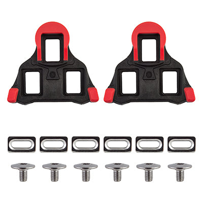 ORIGIN8 PEDAL CLEAT OR8 SPLIT SPD-SL FIXED BK/RD