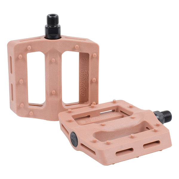 THE SHADOW CONSPIRACY PEDALS TSC MX SURFACE PLASTIC 9/16 CLAY