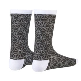 Supacaz Asanoha Socks Black/White SM Pair