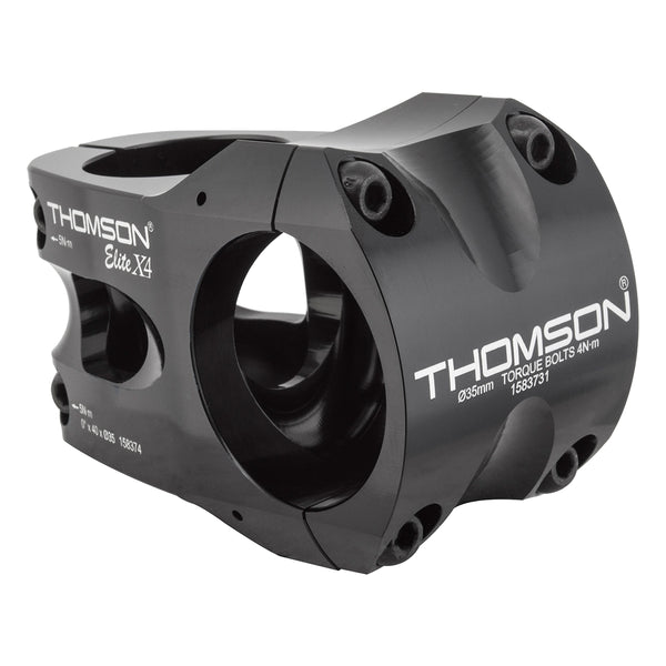 THOMSON STEM MTB THOM X4 ELITE35 40x0d BK 35