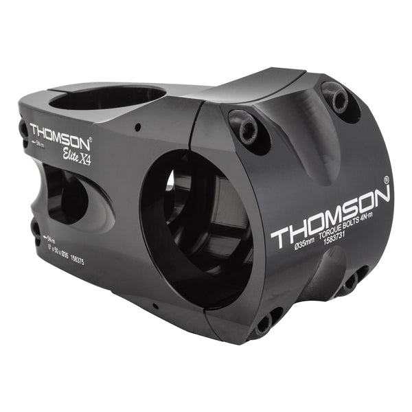 THOMSON STEM MTB THOM X4 ELITE35 50x0d BK 35