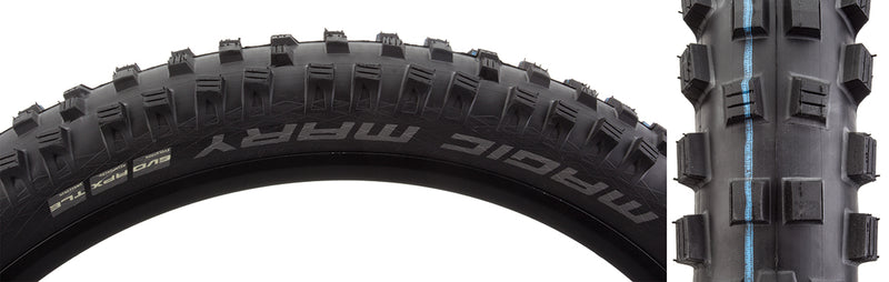 SCHWALBE TIRES SCHWALBE MAGIC MARY EVO SS 27.5x2.8 BK/BSK APEX ADDIX SP-GRIP E25 TLR FOLD