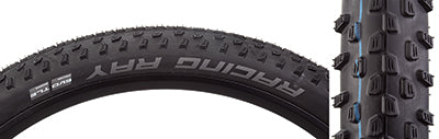 SCHWALBE TIRES SCHWALBE RACING RAY PERF TWIN 29x2.25 BK/BSK ADDIX TLR FOLD