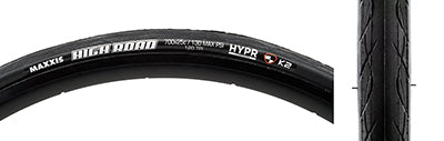 MAXXIS TIRES MAX HIGH ROAD 700x25 BK FOLD/170 K2