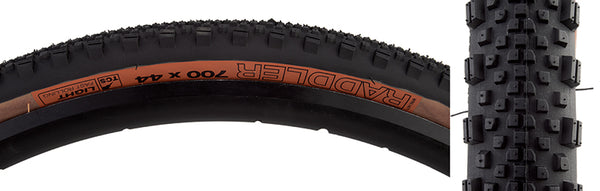 WTB TIRES WTB RADDLER 700x44 BK/SK TCS LIGHT FR FOLD