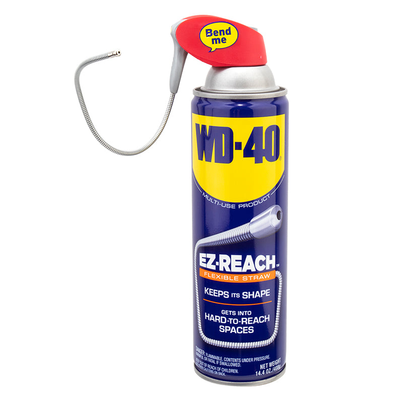 WD-40 BIKE LUBE WD40 EZ REACH 14.4oz AEROSOL